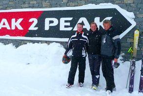 An der Peak2Paek-Gondel