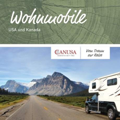 Katalog-Titel für Wohnmobile USA und Kanada
