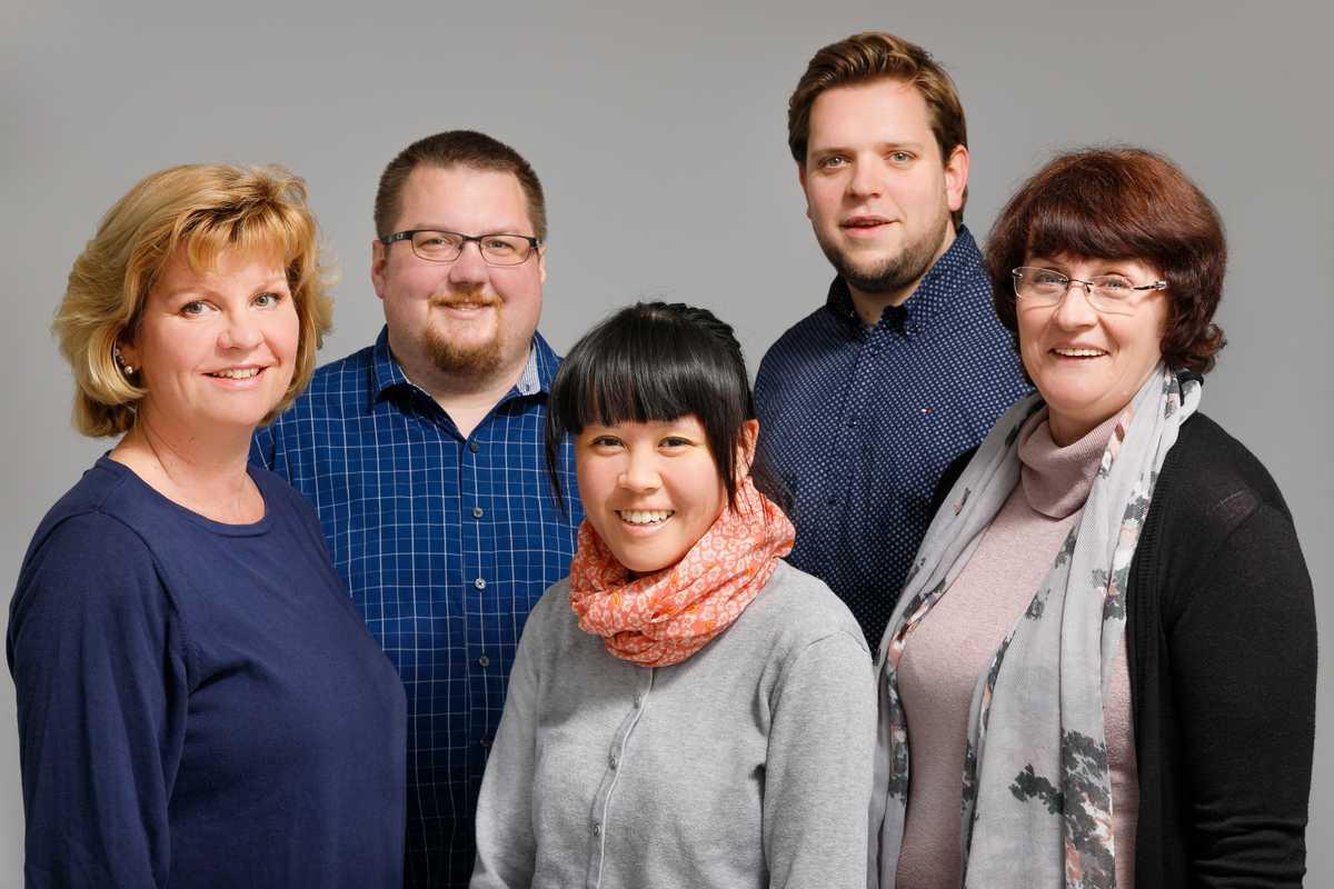 Die CANUSA Mitarbeiter aus dem Berliner Büro