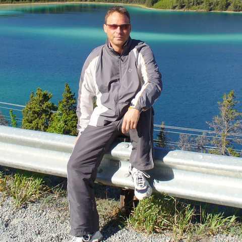 Andreas Neumann im Urlaub