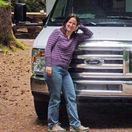 Camper auf dem Colonial Creek Campground