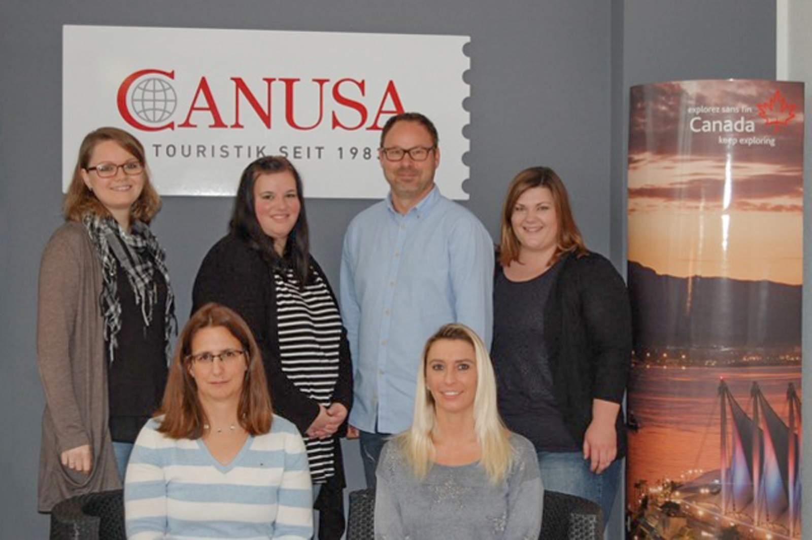 Das CANUSA-Team in Köln