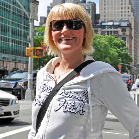 Sandra Engelmann in New York