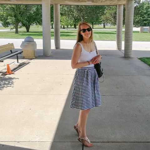 CANUSA Mitarbeiterin Laura Hoffmann in Missouri