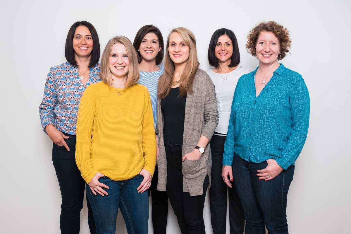 Die CANUSA Mitarbeiterinnen aus dem Frankfurter Büro