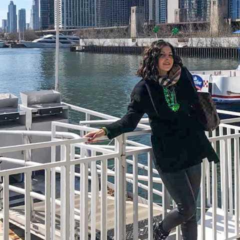 CANUSA Mitarbeiterin Selma Kavazbasic in Chicago