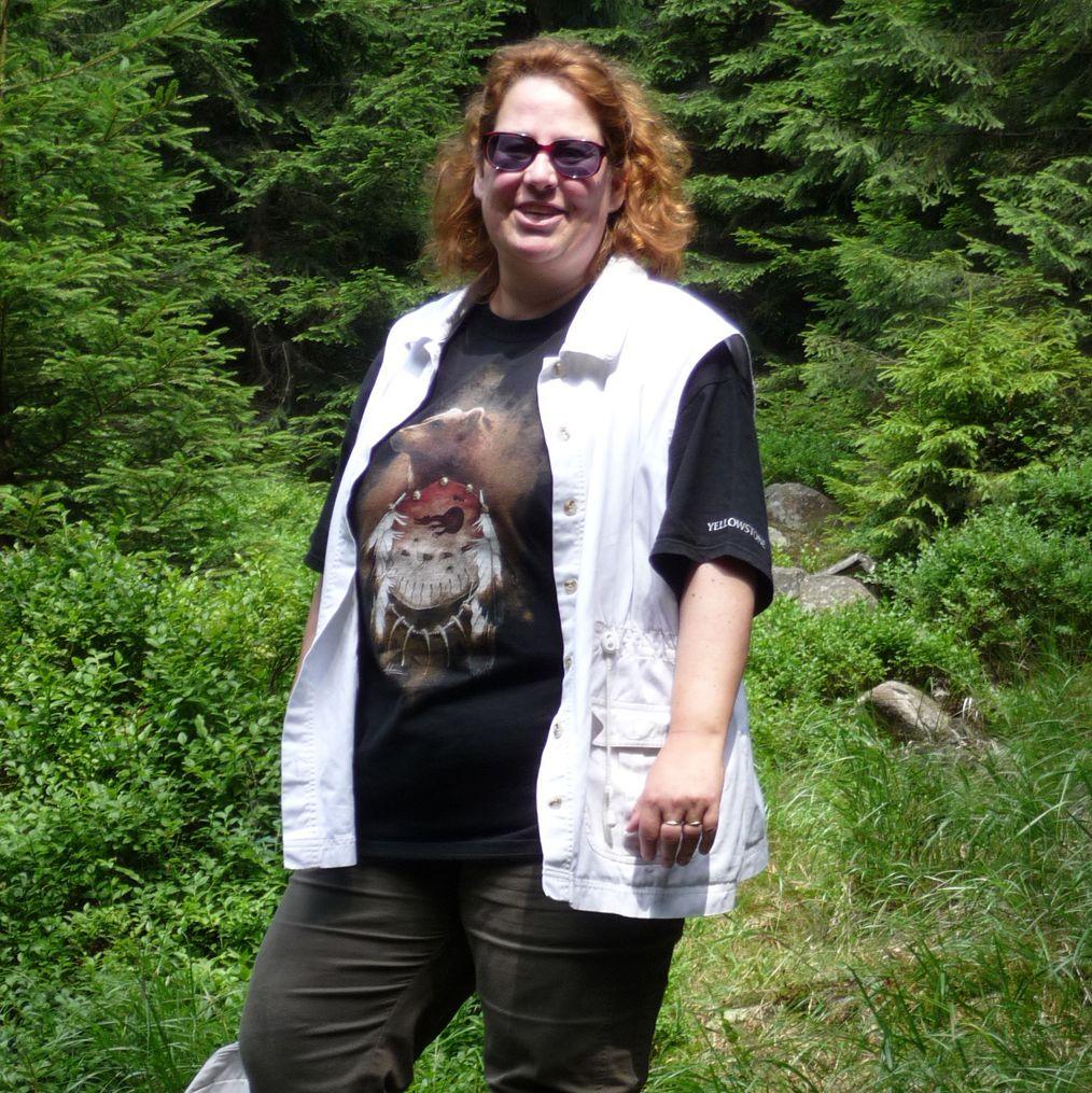 Mitarbeiterin Claudia Schrader