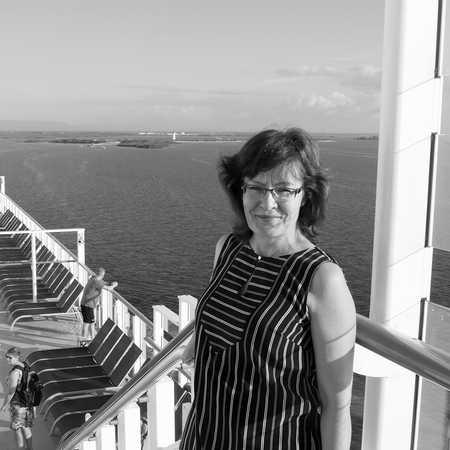 Mitarbeiterin Irene auf der Norwegian Getaway von Norwegian Cruise Line