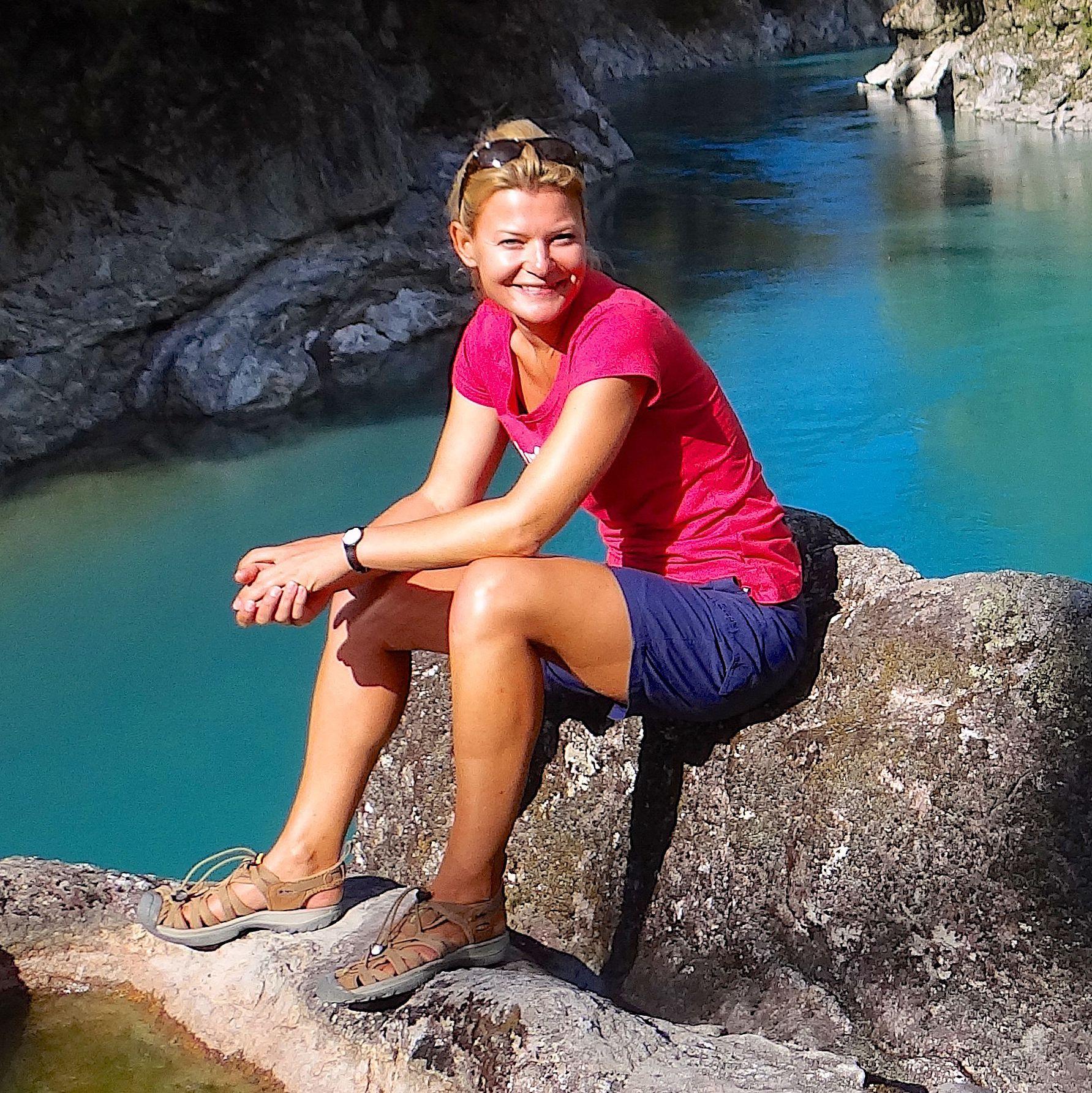 Nicole Hage auf Reisen