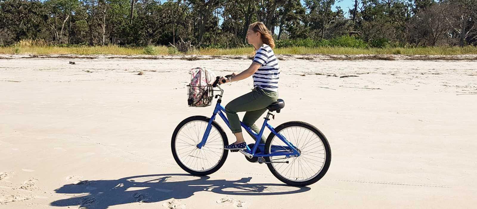 Jekyll Island auf dem Fahrrad erleben