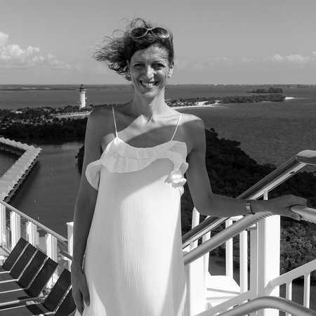 Mitarbeiterin Birthe auf der Norwegian Getaway von Norwegian Cruise Line