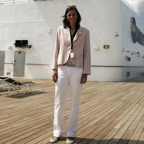 Insidertipp Birthe Witte Kreuzfahrten, Queen Mary 2 - Sundeck
