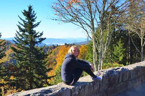 Nele im Great Smoky Mountains Nationalpark