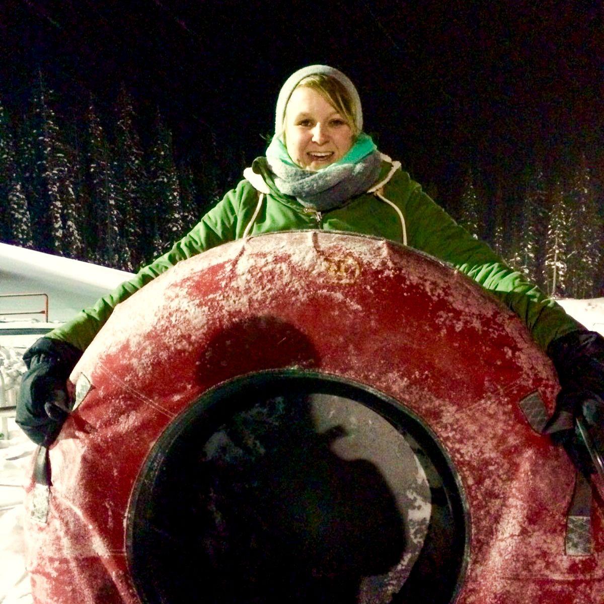 Mitarbeiterin Nicola im Big White Ski Resort