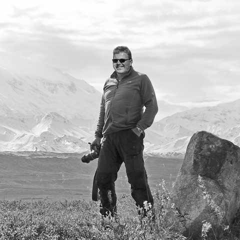Johannes Finke im Denali National Park