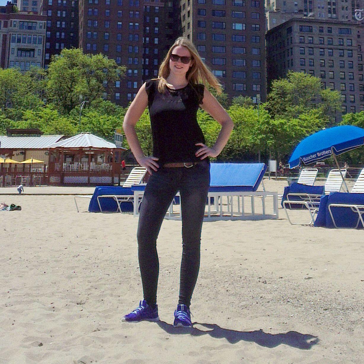 Maja am Chicago Beach