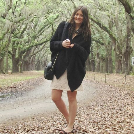 Mandy Mannebach an der Wormsloe Historic Site