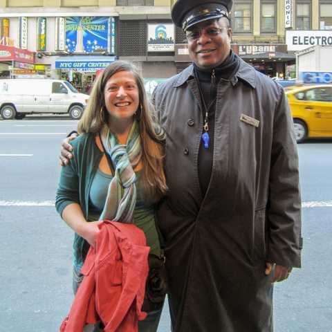 Mitarbeiterin Nadezhda Lozeva in New York
