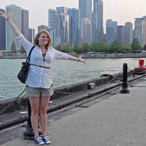 Nele in Chicago