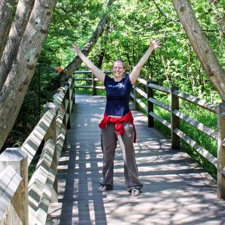 Nici im Tahquamenon Falls State Park