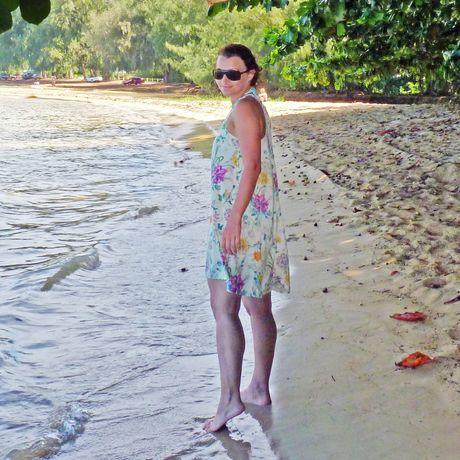 Am Anini Beach Park auf Kauai