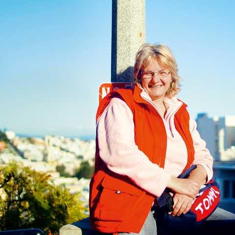 Kirstin Denicke in San Francisco