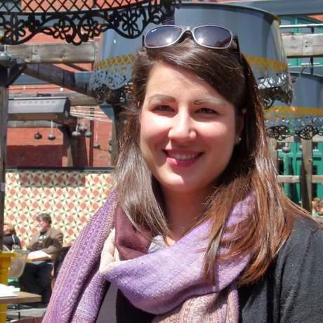 Sarina Keil im El Catrin im Distillery Distric in Toronto, Ontario