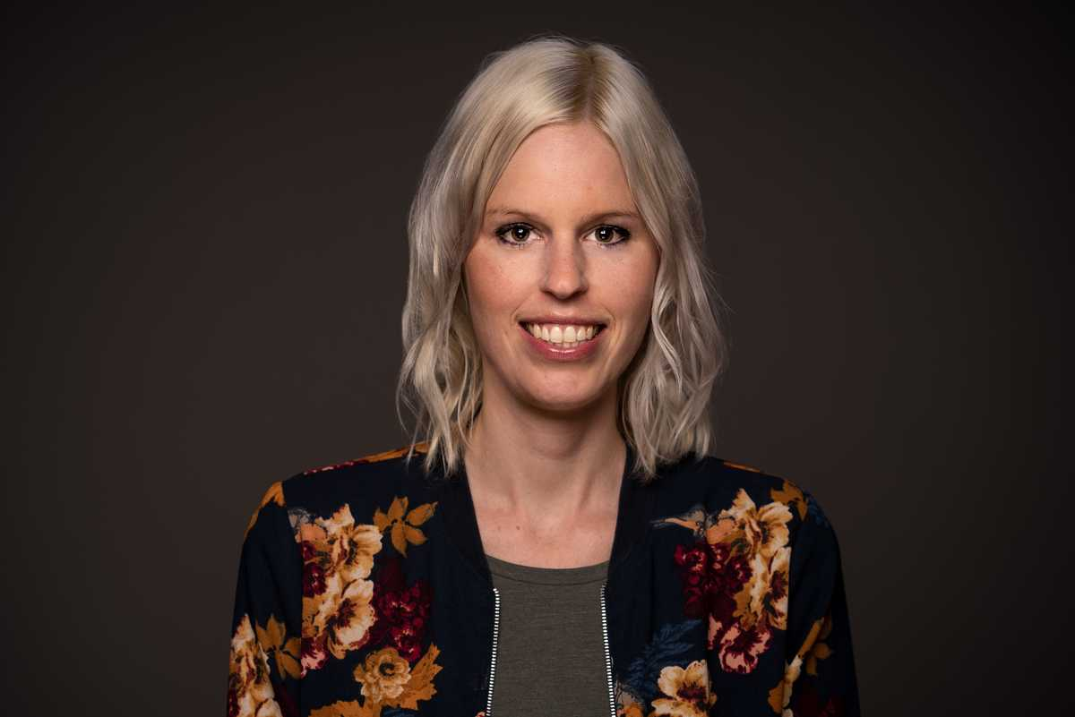 Mitarbeiterin Christina Maier