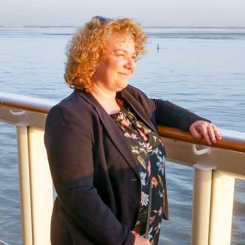Mitarbeiterin Ewa auf der Norwegian Bliss von NCL