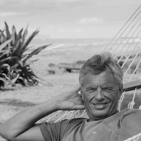 Tilo Krause-Dünow auf der Insel Haleiwa