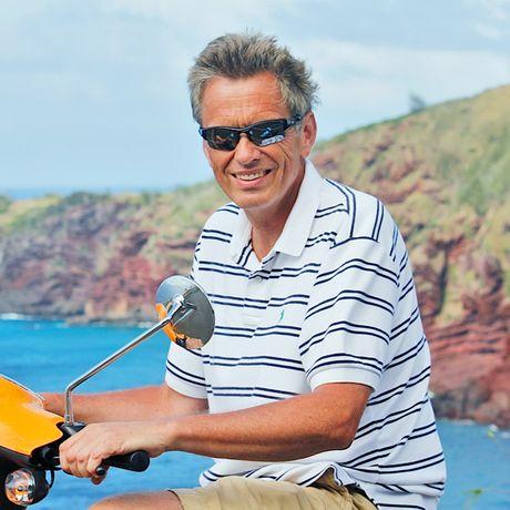 Mit dem Scooter unterwegs auf Maui