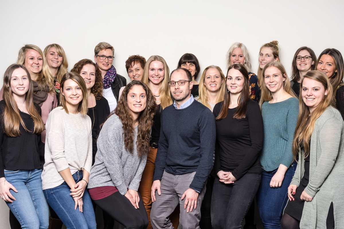 Gruppenbild des Hamburger Berater-Teams