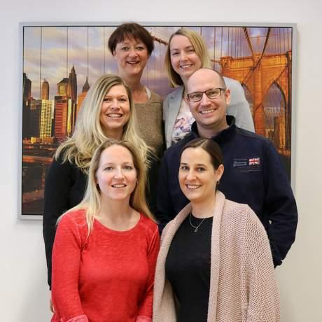 Mitarbeiter des Außenbüros in München