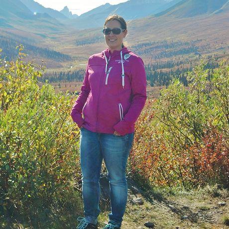 Nadine im Tombstone Territorial Park