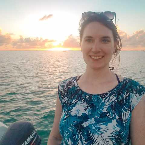 CANUSA Mitarbeiterin Bianca auf Long Island