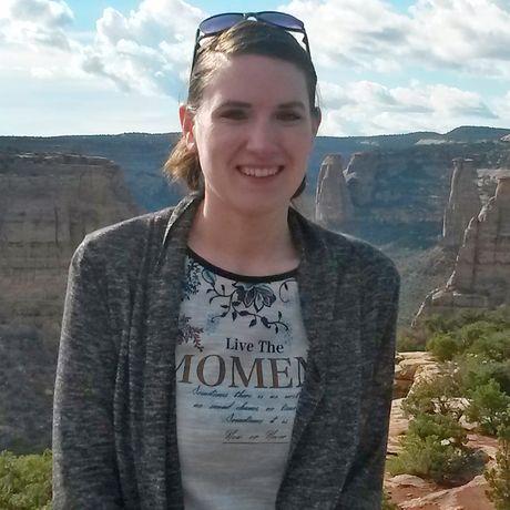Bianca am Colorado National Monument