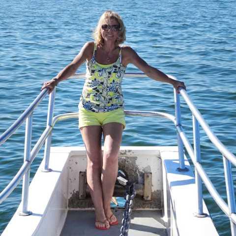 Auf einem Fischerboot bei den Outer Banks