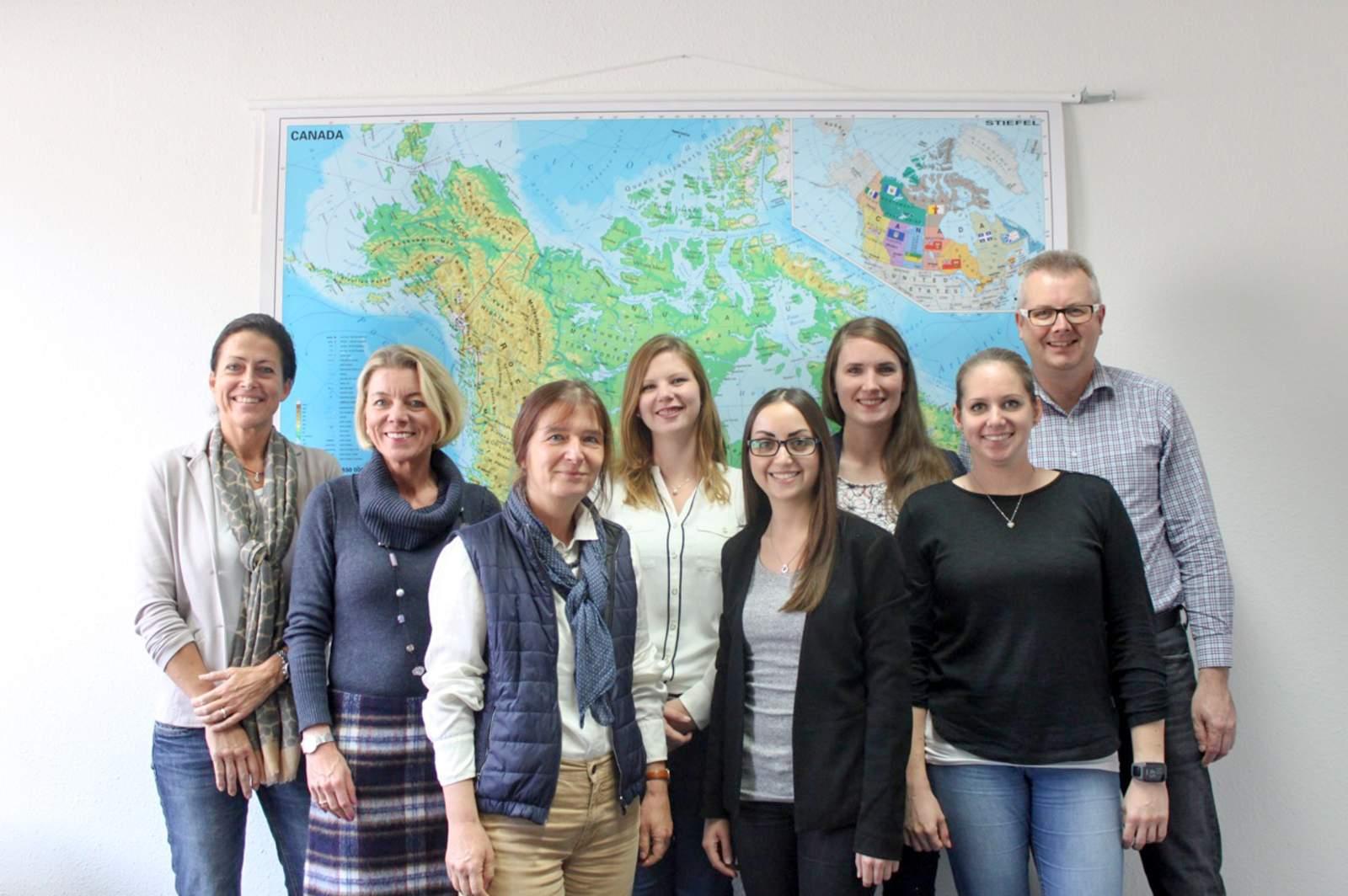 Mitarbeiter im Stuttgarter CANUSA Büro