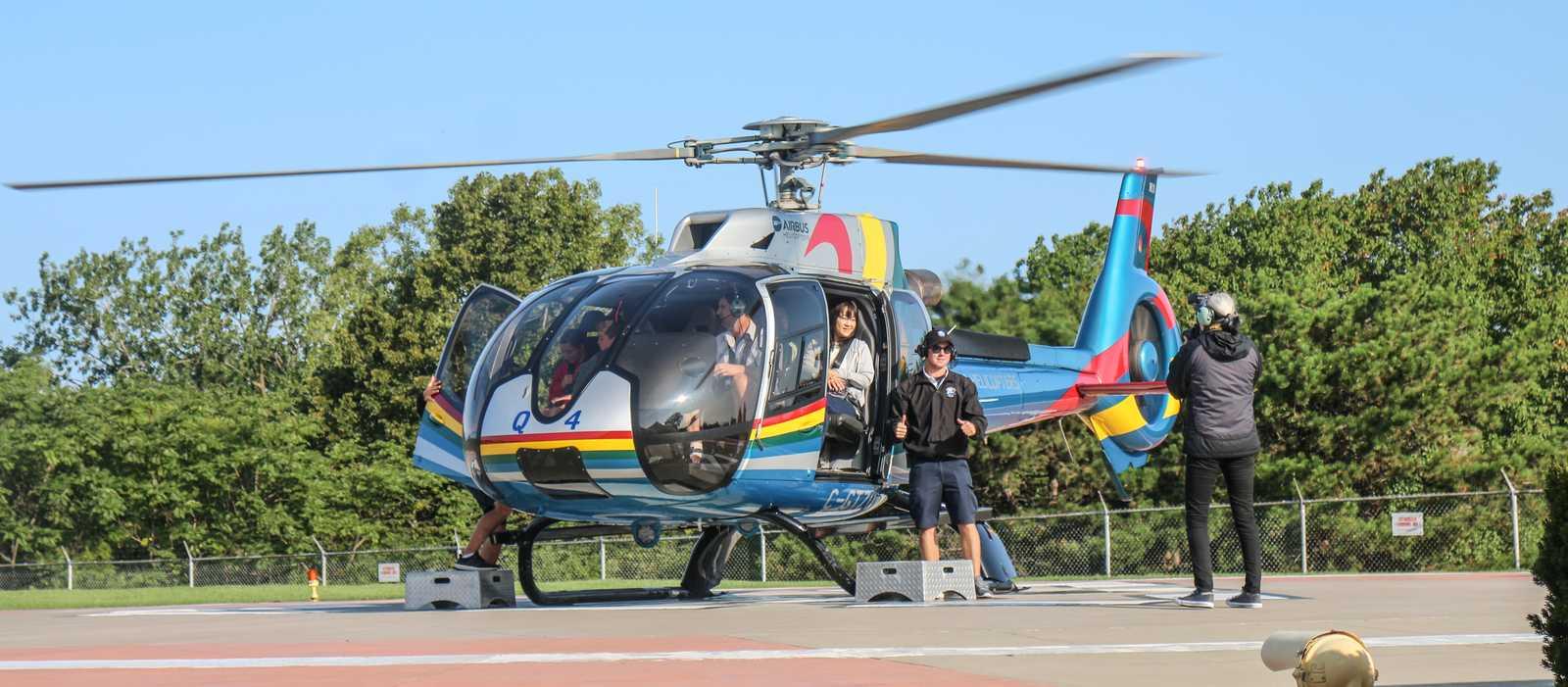 Helikopter Rundflug über die Niagarafälle