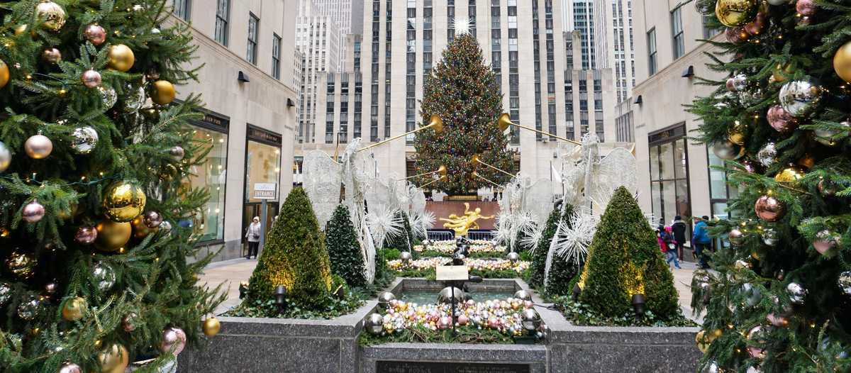 Wo Steht In New York Der Weihnachtsbaum.Magische Weihnachtszeit In New York City Canusa