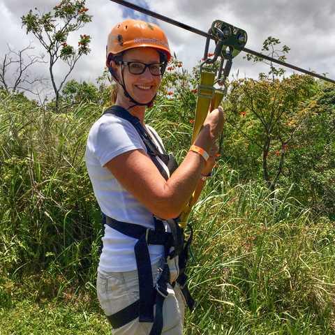 Ziplining mit Botanical World Adventures auf Big Island, Hawaii