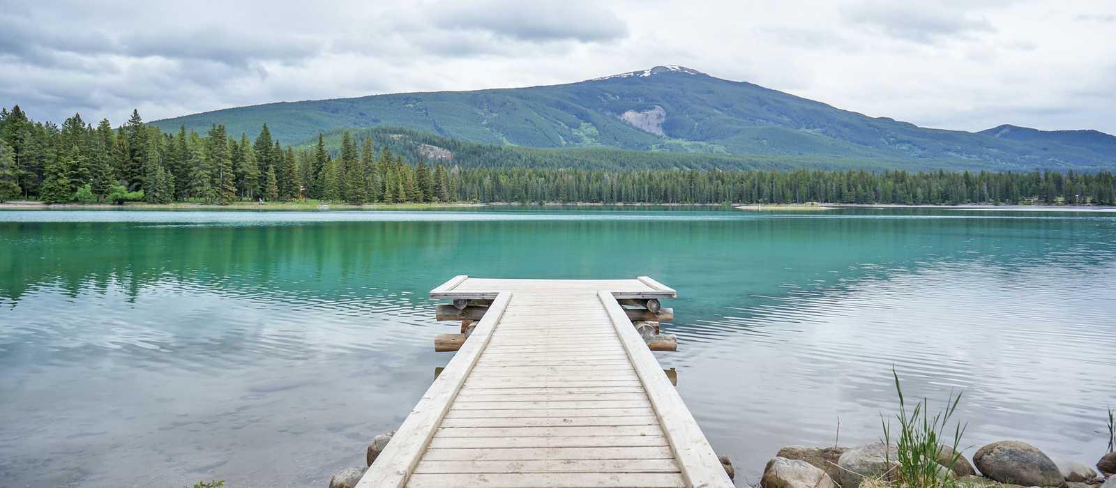 Der Edith Lake im Jasper-Nationalpark