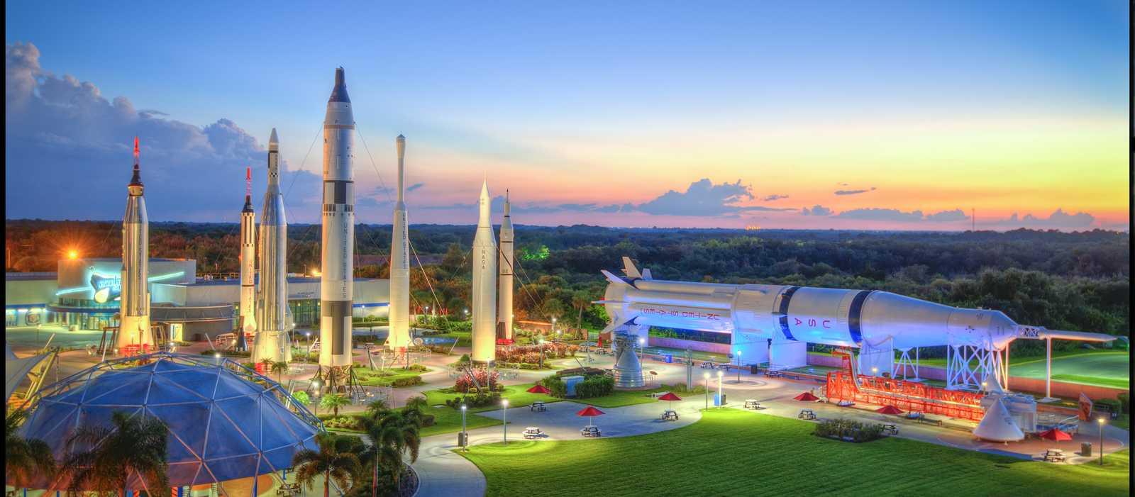 Impressionen des Kennedy Space Center in Florida