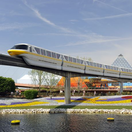 Monorail, Epcot Center, Orlando