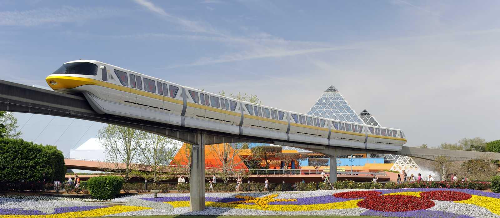 Monorail, Epcot Center, Orlando