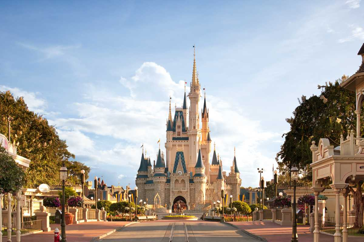 Cinderella Castle, Magic Kingdom, Orlando