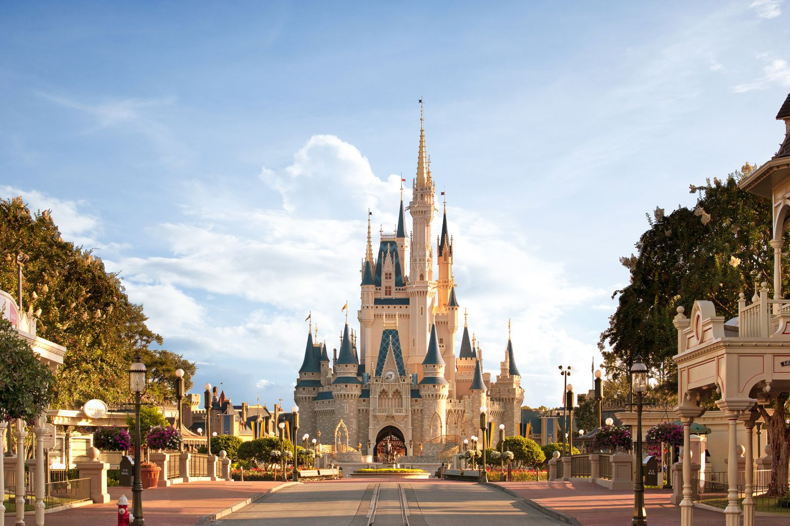 Cinderella Castle, Magic Kingdom, Orlando
