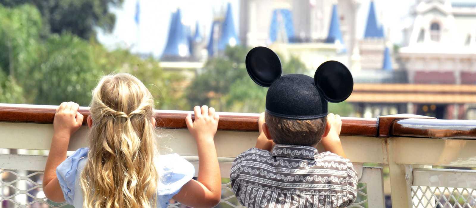 Siblings, Magic Kingdom, Orlando