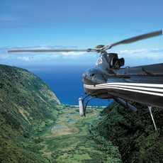 Helikopter in Big Island, Hawaii