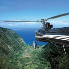 Helikopter in Big Island, Hawaii